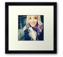 Jenna Marbles Phone Case Framed Print