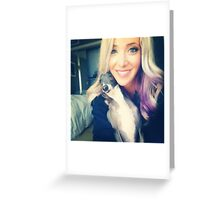 Jenna Marbles Phone Case Greeting Card