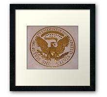 The Presidential Seal Framed Print