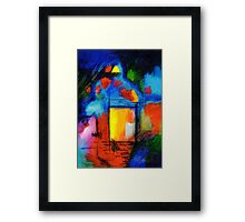 The Doorway Framed Print