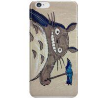 Totoro in the Rain iPhone Case/Skin