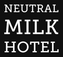 Neutral Milk Hotel - White by Jake Lee