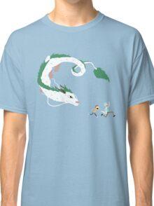 Haku, Rick, and Morty Classic T-Shirt