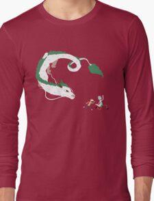 Haku, Rick, and Morty Long Sleeve T-Shirt