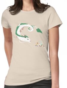 Haku, Rick, and Morty Womens Fitted T-Shirt