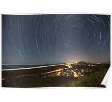 Mt Emu Star Trails Poster