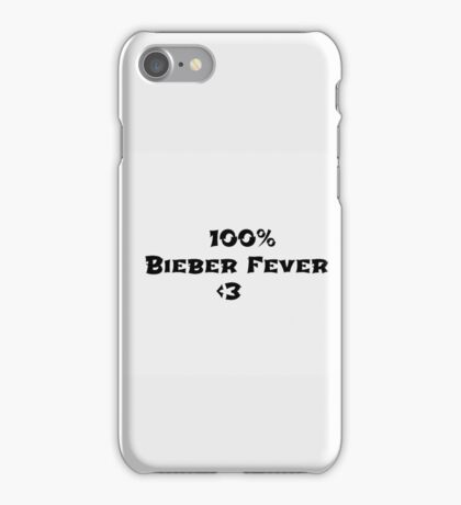 Justin lovers iPhone Case/Skin
