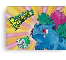 Pokemon Bulbasaur Canvas Print