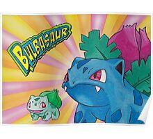 Pokemon Bulbasaur Poster