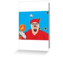 Mario In Mushroom Kingdom Greeting Card