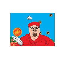 Mario In Mushroom Kingdom Photographic Print