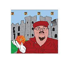 Mario In Mushroom Kingdom Version Two Photographic Print