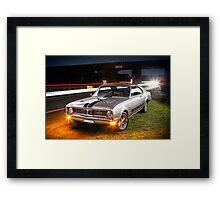 Kurt Davis' Holden Monaro GTS Framed Print