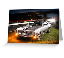 Kurt Davis' Holden Monaro GTS Greeting Card