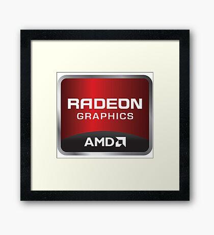 Radeon Graphics - AMD Framed Print