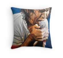 Jimmy Barnes Throw Pillow