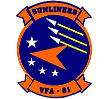 VFA-81 Sunliners Patch Photographic Print