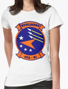 VFA-81 Sunliners Patch Womens Fitted T-Shirt