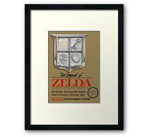The Legend of Zelda Framed Print