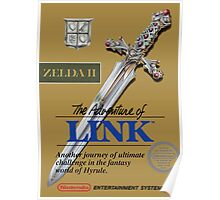 The Legend of Zelda II Poster