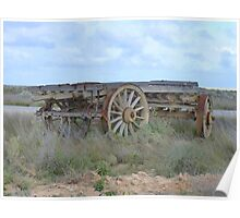 Timber Wagon Nullarbor ,Nullarbor Plains S.A. Poster