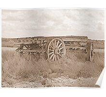 Timber Wagon Nullarbor # 2 Poster