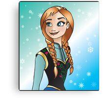 Disney Princesses - Anna Canvas Print