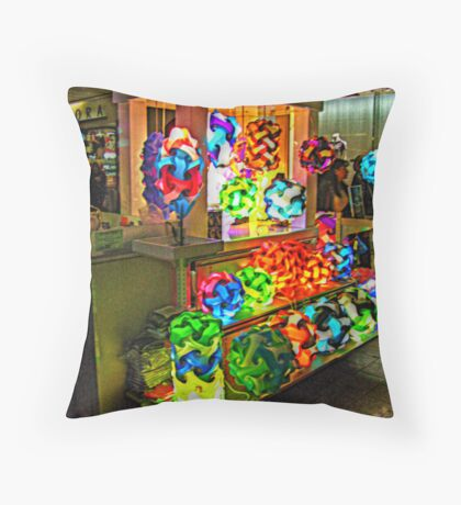 Colorful and Unique Lamps For Sale Throw Pillow