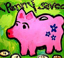 A Penny Saved by Kate Delancel Schultz