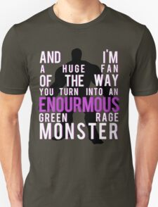 I'm Always Angry Unisex T-Shirt