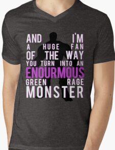 I'm Always Angry Mens V-Neck T-Shirt