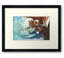 made out of God's tears and the Devil's fury. Framed Print
