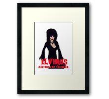 Sharon Needles is Elvirus Framed Print