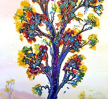 The Rainbow Tree by © Linda Callaghan
