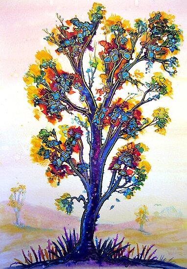 The Rainbow Tree by © Linda Callaghan