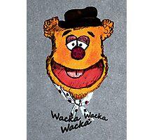 Wacka Wacka Wacka Photographic Print