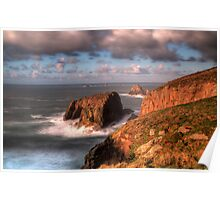Land's End, Cornwall Poster