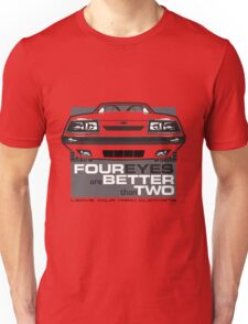 Four Eyes are Better than Two Unisex T-Shirt