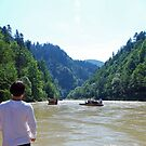 River Dunajec rafting by Arie Koene