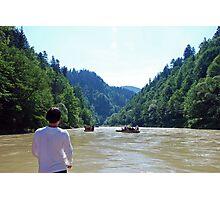 River Dunajec rafting Photographic Print