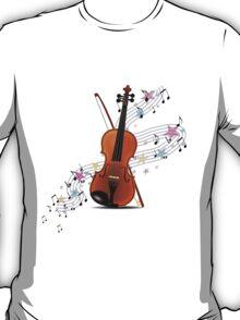 Violin music T-Shirt