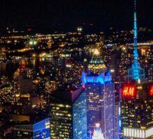 New york night Sticker
