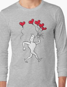 A New Love Balloon is in the Air Long Sleeve T-Shirt