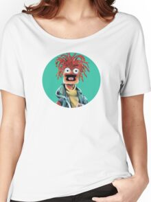 Pepe The King Prawn Fan Art  Women's Relaxed Fit T-Shirt