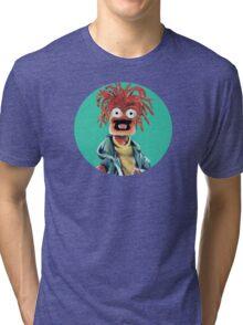 Pepe The King Prawn Fan Art  Tri-blend T-Shirt