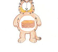 Garfield Care Bear Cousin by SteveHanna