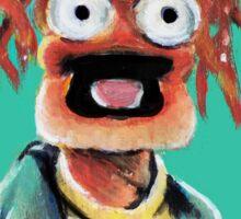 Pepe The King Prawn Fan Art  Sticker