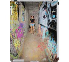 graffiti tunnel iPad Case/Skin