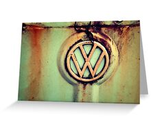 The incomparable VW...Thing Greeting Card