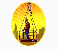 Construction Worker Platform Retro Unisex T-Shirt